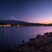 Lake Kawaguchi - View Point of Sakasa-Fuji [Explored] by ジェイリー