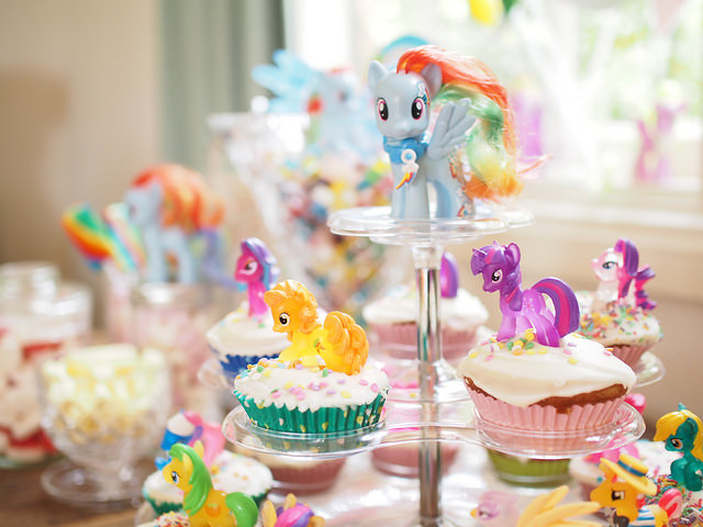 Birthday Cake Mlp Retro
