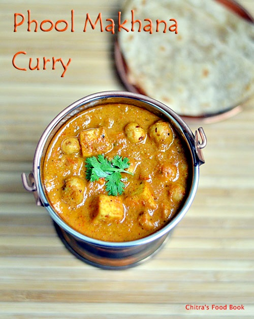 Makhana curry recipe
