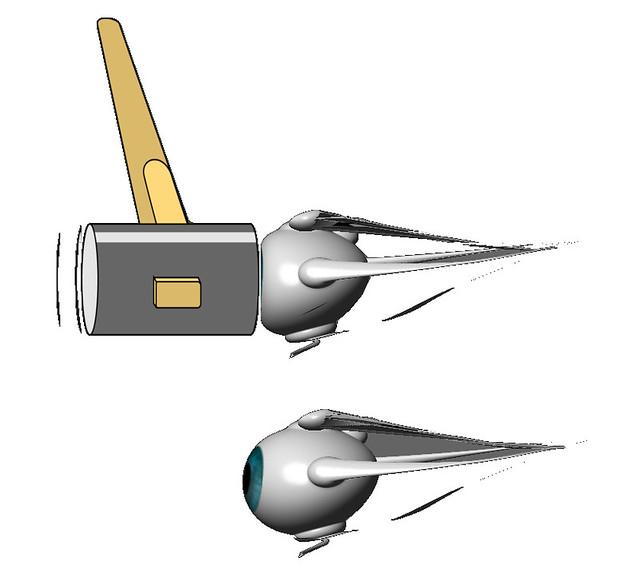 真・視力回復法のブログ冗談ネタ用 眼軸を短くする方法(^^;)⇒でも・・・目をぎゅっと強くつぶる方法とレベル変わんないよね???