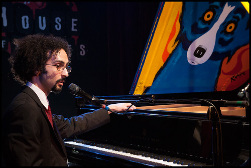 Conun Pappas at Piano Night 2015. Photo by Ryan Hodgson-Rigsbee (rhrphoto.com)