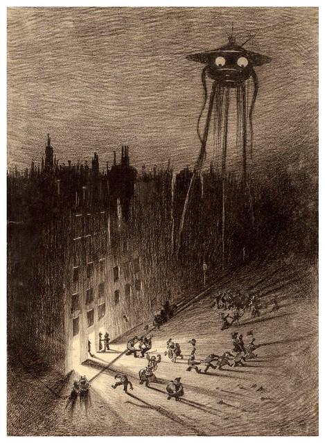 019-La Guerre des Mondes illustreè par Alvim Corrêa-1906- Heritage Auctions