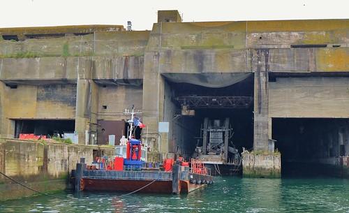 La Rochelle, La Pallice, Port ouvert 2016, base sous marine ww2