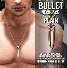 !NFINITY Bullet Necklace - Plain