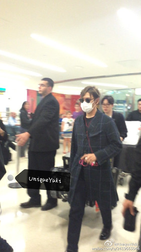 Big Bang - Newark Airport - 08oct2015 - UniqueYuki_ - 03