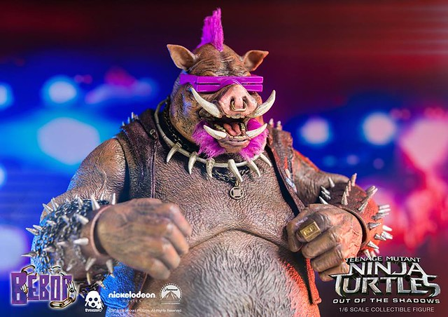 threezero 忍者龜:破影而出【比巴】Teenage Mutant Ninja Turtles Bebop 1/6 比例人偶作品
