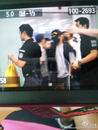 BIGBANG GDTOPDAE arrival Hangzhou 2015-08-25 134