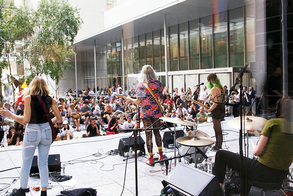 Potty Mouth @ The MoMa, NYC
