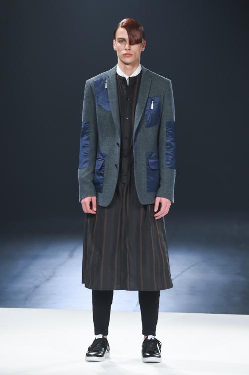 FW15 Tokyo yoshio kubo007_Marc Schulze(Fashion Press)