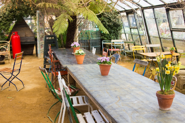 Visiting Petersham Nurseries Richmond London