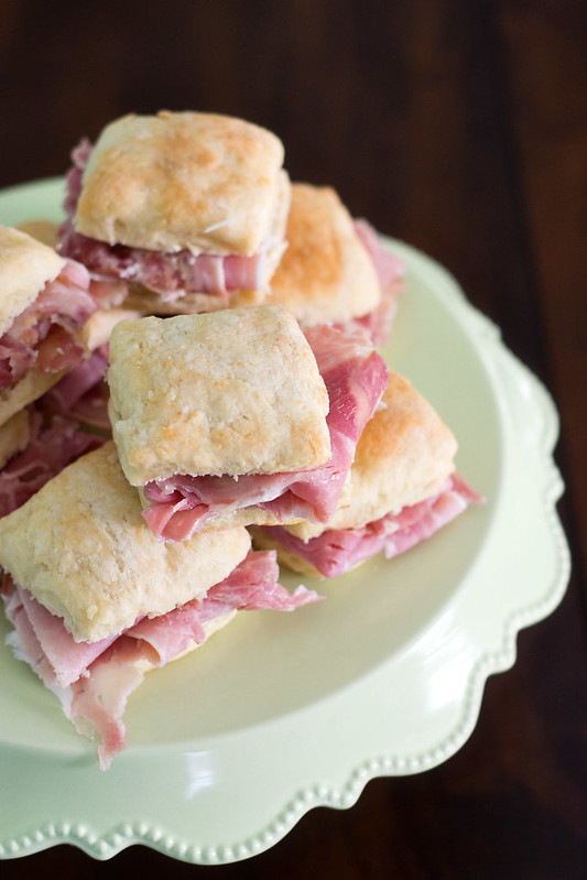 Smithfield Ham Biscuits