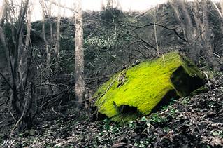 large green stone