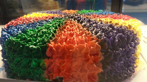 Rainbow Cake | Where in Davao? - Davao Food Trips 20150411_165327