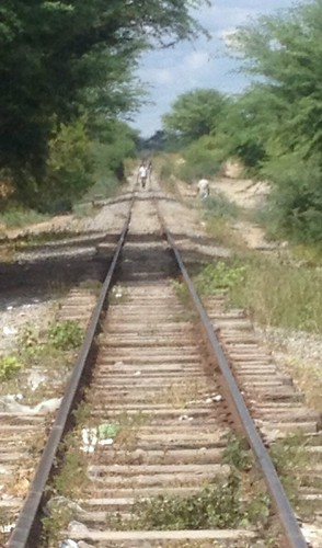 A estrada de ferro