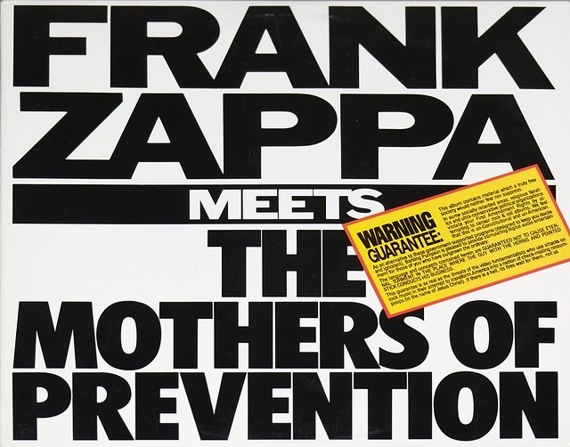 Frank Zappa Meets The Mothers Of Prevention Rock Jazz
