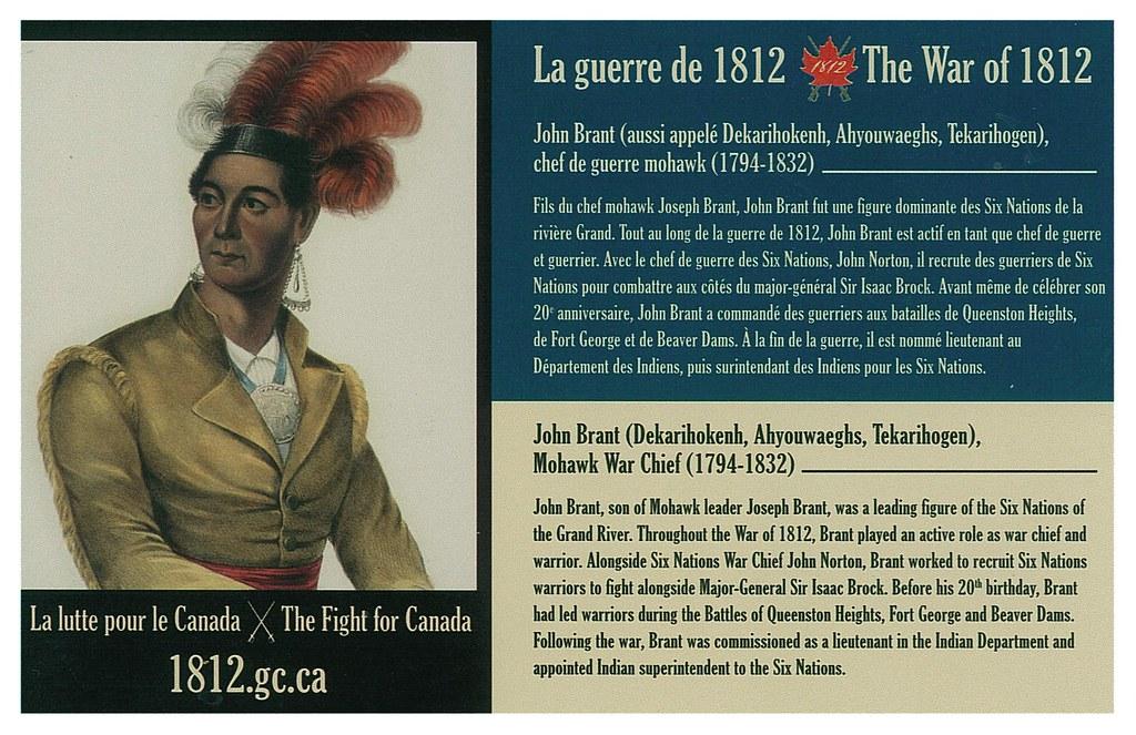 War of 1812 - John Brant