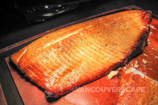 Prince George brunch: Smoked maple salmon