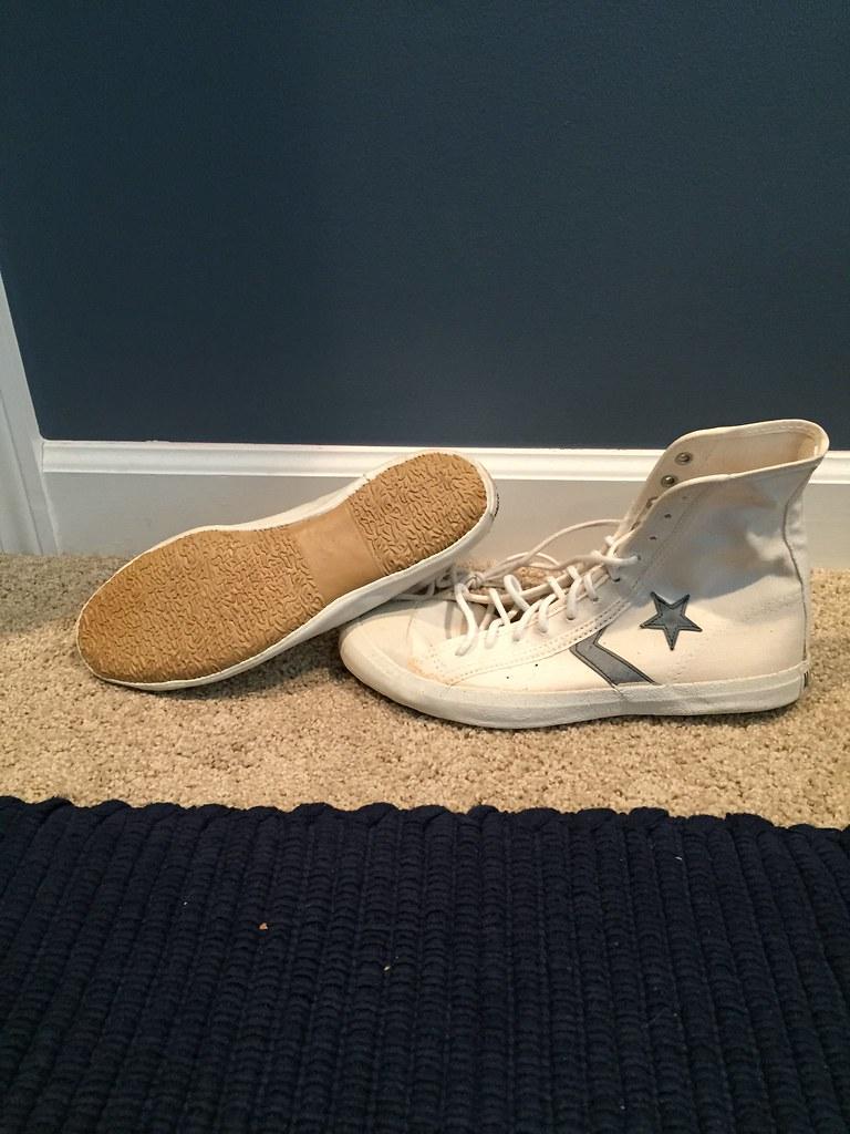 cc19fc4e19e179 Brand new 1960s converse wrestling shoes