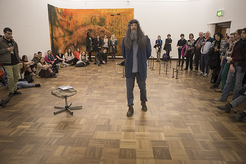 Hugo Canoilas 'Someone a long time ago, now.' Preview & Performance, Cooper Gallery, 2015
