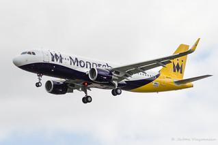 A320WL Monarch F-WWDS msn 6550