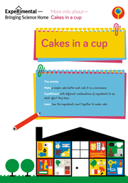 microwave cakes Infosheet
