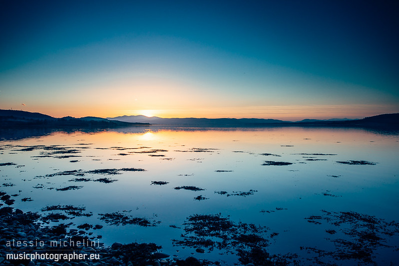 Sunset near Inverness