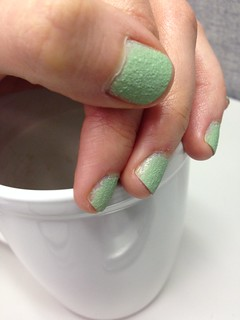 Nail Polish: Sally Hansen's Sugar Shimmer Mint Tint