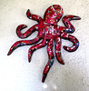 Octopus No 2 Red