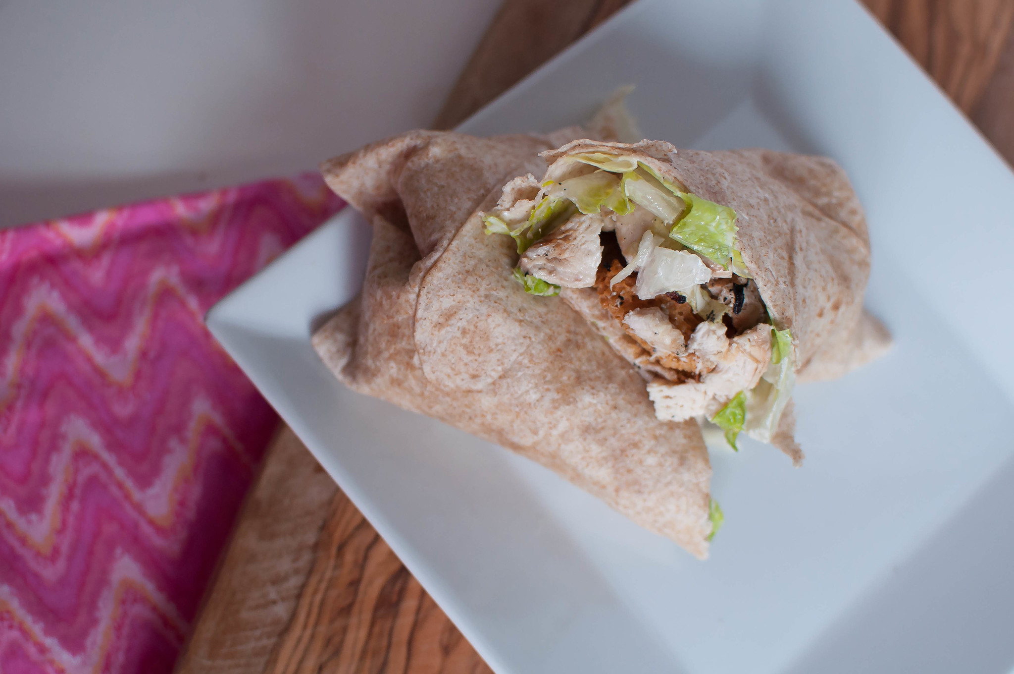 Chicken Caesar Wraps 2