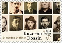 18b KAZERNE DOSSIN timbre