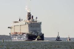 Erster Sea Trial der Mein Schiff 4