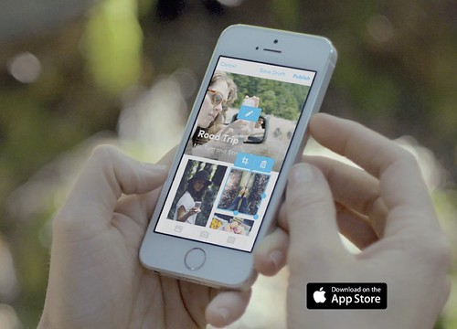 """Das Start-up Storehouse aus San Francisco gewann 2014 den Apple Design Award. Urteil des Smartphone-Giganten: """"Mit atemberaubenden, intuitiven und anpassbaren Layouts können Benutzer ihre Geschichten erzählen."""""""