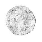 A Roman coin by James Cope