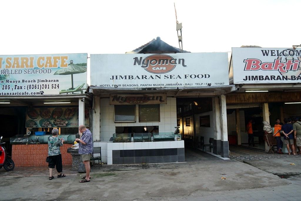 jimbaran beach - seafood - night time -008