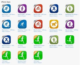 MapMyFitness App Store