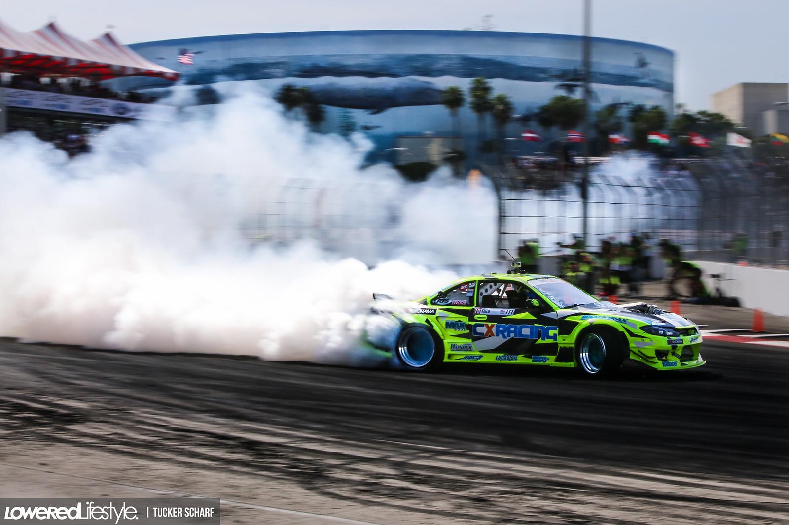 Formula Drift Long Beach // Photo by: Tucker Scharf