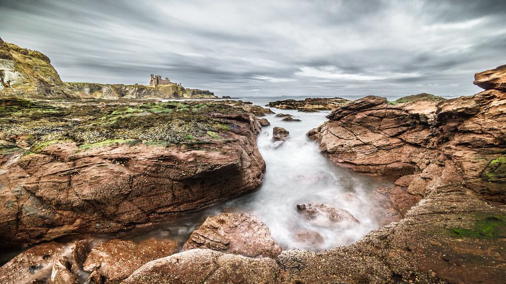 Tantallon castle, Scotland, United Kingdom, Landscape photography picture