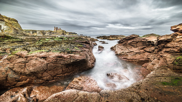 Tantallon castle, Scotland, United Kingdom - Landscape photography