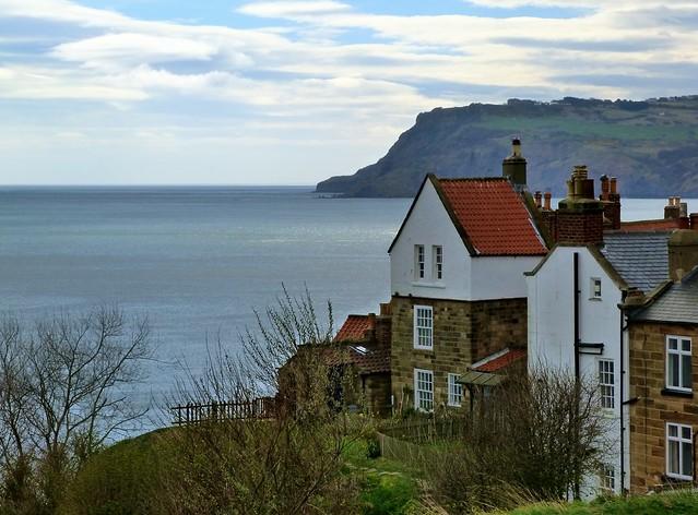 Robin Hood's Bay, uno de los pueblos más bonitos de la costa de Yorkshire (Inglaterra)