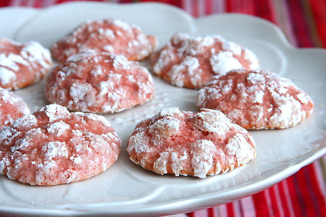 strawberry cookies 5