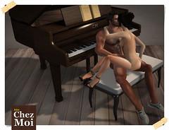 Fancy Piano Multiposes CHEZ MOI XXX
