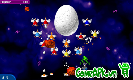 Chicken Invaders 2 HD v1.05ggl Unlocked cho Android