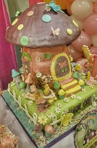 Fairy in a Tadpole Cake by SherylGing Garcia of Gingshew Baked Treats
