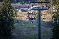 Bill n Reggie Dahl - Mt. Bachelor Chairlift 1