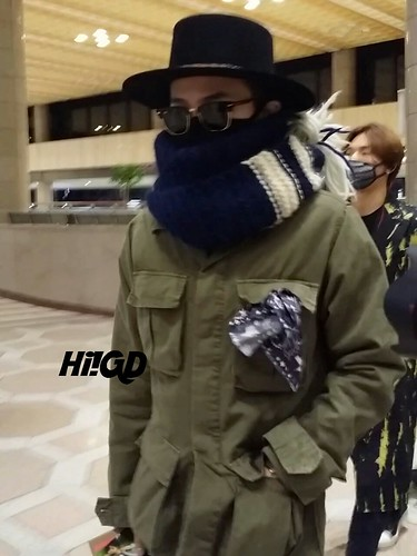 Big Bang - Gimpo Airport - 27feb2015 - G-Dragon - Hi GD - 01