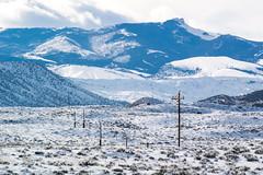 US 287, Wyoming, USA.