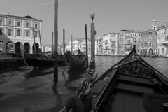 Venice - Gondola ride view 1