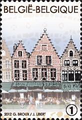 21 Markt van Brugge timbred