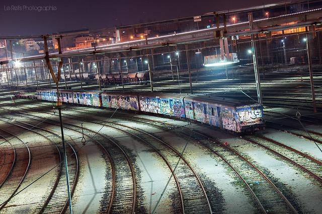Ghost train ..