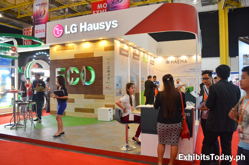LG Hausys Exhibit Booth